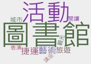 OpView輿情聲量分析_新興景點關鍵字分析(圖書館總館印象)