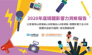 產業聲量報告》2020年度媒體影響力洞察報告